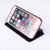 New Arrival Newest 6 Colors Phonecase for iphone6 Protective sleeve Left Open Bracket Fashion PU Leather