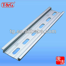 35 x 7.5mm aluminum DIN rail