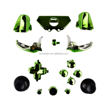 Full Set Chrome Buttons for XBOX ONE For xbox one replacement controller shell