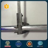 "china supplier 2 inch galvanized/gi weight of 1 1/2"" gi pipe price list"