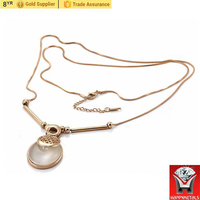 Women Heavy Stainless Steel Gold Chain