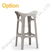 Practical different shape metal gang chair