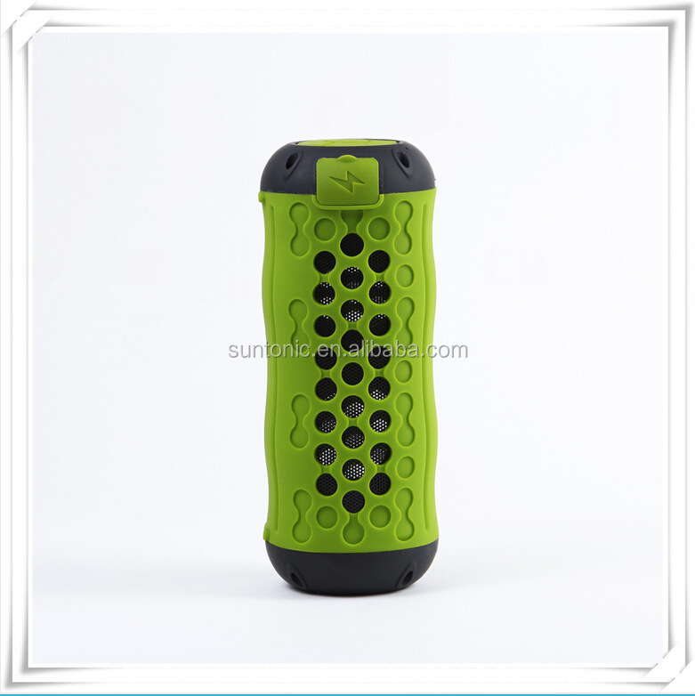 Outdoor Sport Portable Weather-proof Shockproof Dust-proof Stereo Rechargeable Wireless Bluetooth Speaker