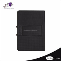 Black custom 11.6 inch tablet pc leather Keyboard case for iPad