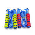 manufacturers professional produce foam jump rope rubber skipping rope for kids