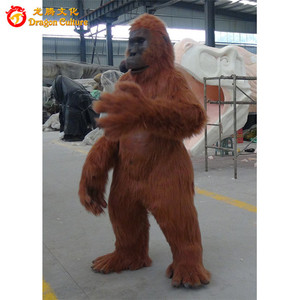 Life-size animal suit custom made costumes gorilla for adults