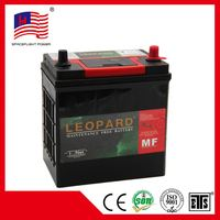 N38MF 12V38AH korea design jis Quick Start electric car battery