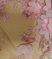 Pink wedding dress lace fabric wholesale from GuangZhou Guoxin embroidery