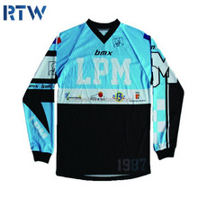 Professional custom crazy BMX cycling jersey