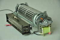 Tangential Fan: shaded pole motor with blower for oven, heater, electric fireplace