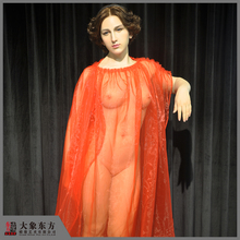 Museum Arts Use Silicone Female Body Naked Woman Statues
