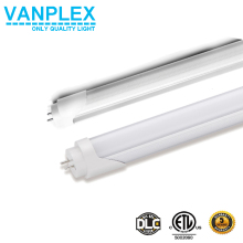 High lumen 4ft price t8 led tube light, VDE TUV DLC listed led tube 140lm/w 150lm/w ,1.2m 18W/20W/22w /15w VDE led tube light