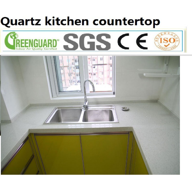 Modular kitchen designs with price counter tops ice white quartz countertop