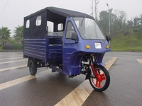 trade assurance closed passenger tricycle