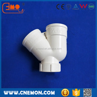 PVC Plastic U-Trap pipe fitting with Inspection Port