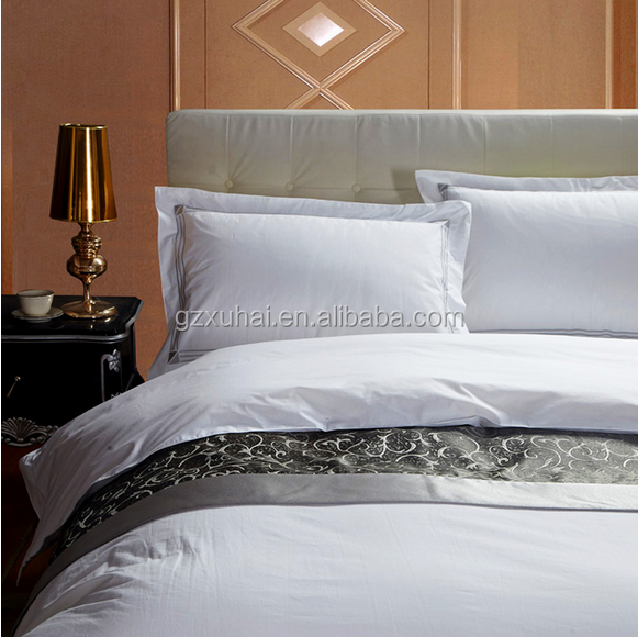 Commercial luxury hotel bed linen wedding bedding set for Luxury hotel 750 collection sheets