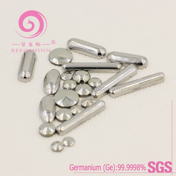 2017 health products metal germanium 7mm germanium beads SGS
