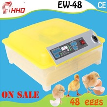 Chicken/duck/goose/quail/turtle eggs hatcher poultry farm equipment incubator hatching machine for sale