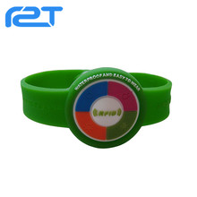 Cheap Hot sale cheap custom wristband silicone with RFID