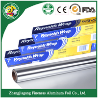 Household Aluminum Foil Paper Roll for kitchen ware