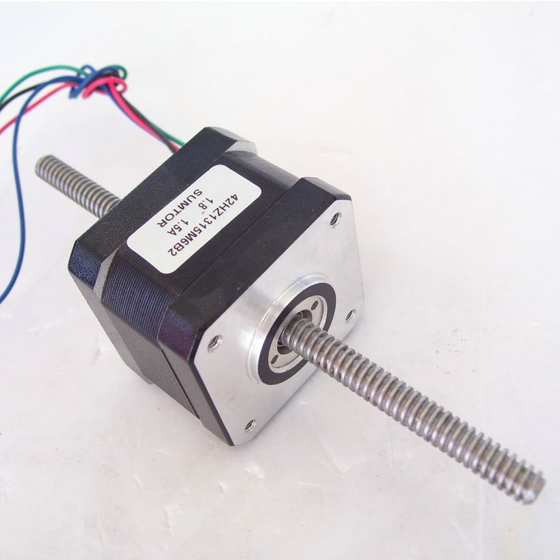 42HZ1315M6B2 130mm 1.5A 0.22Nm nema 17 leadscrew linear stepping motor