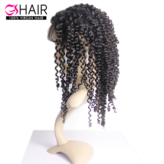 Raw virgin unprocessed 360 lace frontal closure wig
