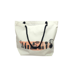 promotional recycled tote reusable shopping cotton bag