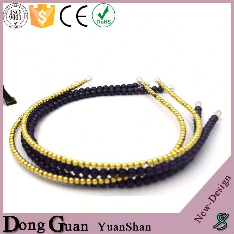 2016 new design eco-friendly crown floral wreath top grade hair bands made of high quality elastic hairband