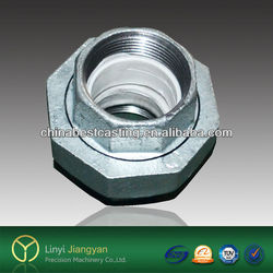 Electric Galvanized Malleable Iron Pipe Fitting Union 330