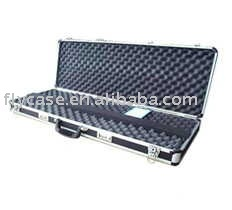 2015 aluminum rifle case .aluminium gun case ,pistol storage case ,with locks and stronge handles and frame ,1330*350*180 mm