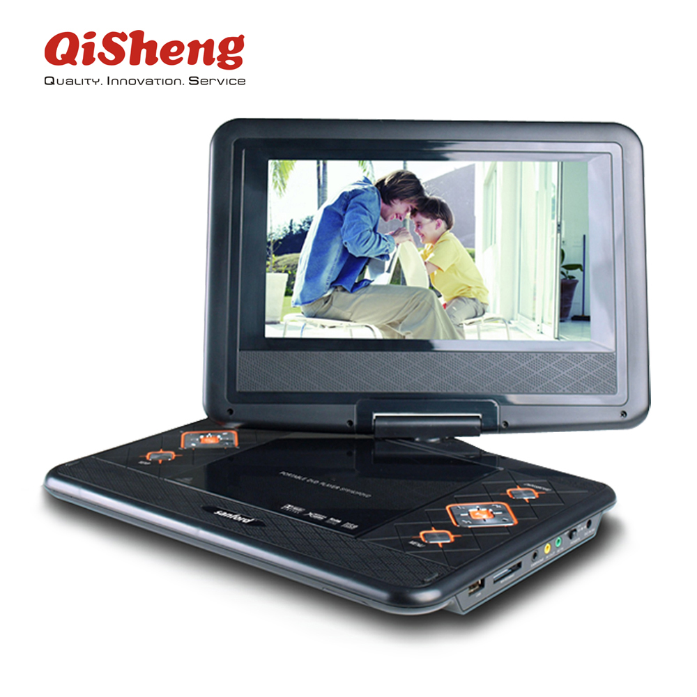 9 inch portable dvd player with TV,MP3,MP4,Radio USB,SD