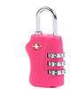 Custom Logo 3 Digital Combination Lock TSA Luggage Lock