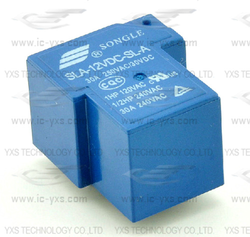 T90 4 pin relay 12V SLA-12VDC-SL-A new and original