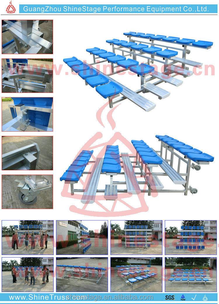 Metal Stadium Seats : Metal used stadium seats spectator seat permanent