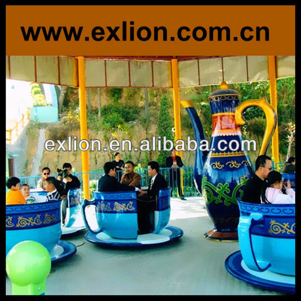 China Professional supplier Theme park kids first choice amusement coffee cups ride