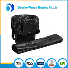 HDPE/LDPE Plastic Strength Red Medical Biohazard Waste Garbage Bag on roll