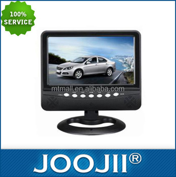 Rechargeable 7inch Mini Television Support FM Radio USB/SD Card Portable TV
