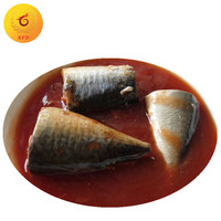 Chinese 425g Canned Mackerel Fish in Tomato Sauce with Best Price