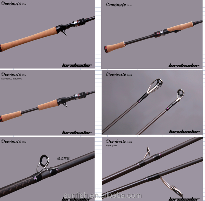 rod,lure fishing rod,fuji guide and seats