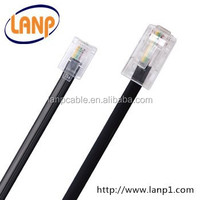 RJ11 PVC telephone cable China Factory