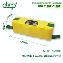 CE RoHS approval 14.4V 7.2v ni-mh Vacuum Cleaner/Vacuum Sweeper batteries SC aa 3/4a rechargeable battery 3500mah 3000mah