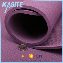 easy washable sport mat manufacturer TPE yoga mat