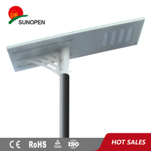 Solar power Highway/Freeway street light! 80W Integrated Solar street light install on 10meters height