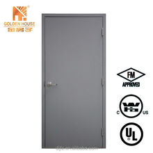 UL Intertek FM steel fire rated door 1.5 / 3 hours