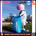 inflatable milk cow cartoon for advertising decoration