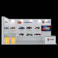 Detian Offer standard trade show booth trade fair display fashion show trade show display booth