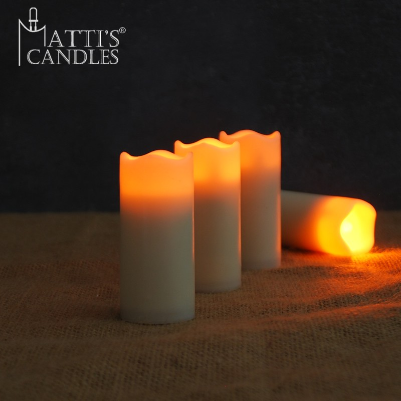 Matti's Small Votive Candle Models/Waxless Candle/Morocco Candle