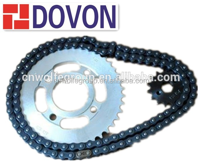 AX100/428H/42T/14T high performance and good quality motorcycle chain and sprocket kits manufacturers