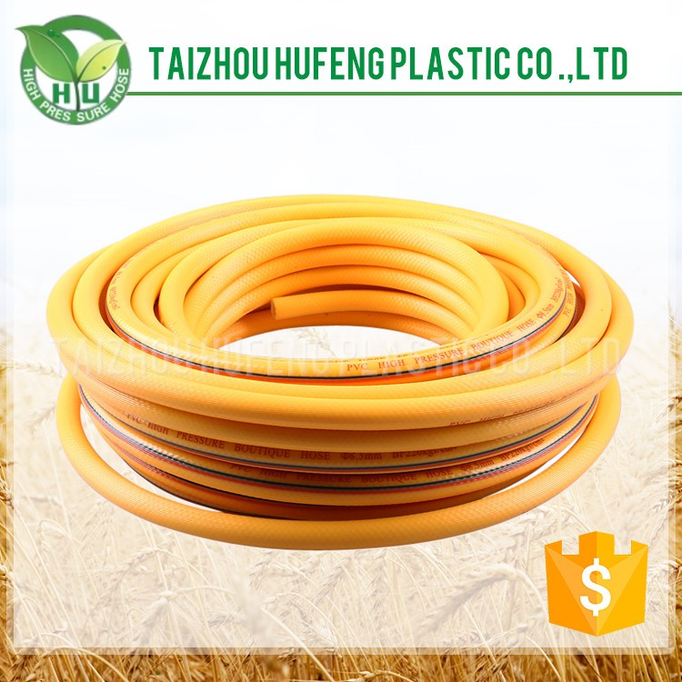 Chinese Supplier PVC Pink Color Flexible High Pressure Hose