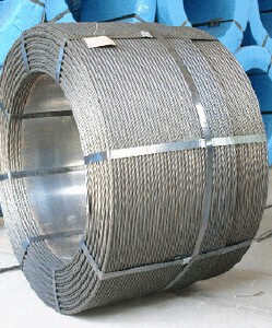 1*7,7*7 zinc coated/galvanized steel stranded wire(factory)